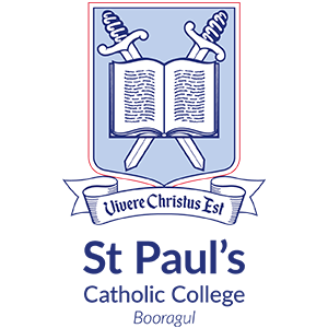 BOORAGUL St Paul's Catholic College Crest