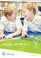 2015 Catholic Schools Office Annual Report Cover