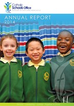 2014 Catholic Schools Office Annual Report Cover