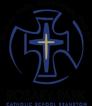 BRANXTON Rosary Park Catholic School Crest Image