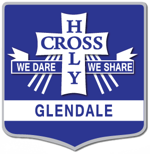 GLENDALE Holy Cross Primary School Crest Image