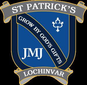 LOCHINVAR St Patrick's Primary School Crest Image