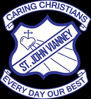 MORISSET St John Vianney Primary School Crest Image
