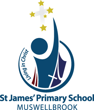 MUSWELLBROOK St James' Primary School Crest