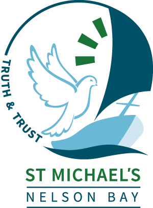 NELSON BAY St Michael's Primary School Crest