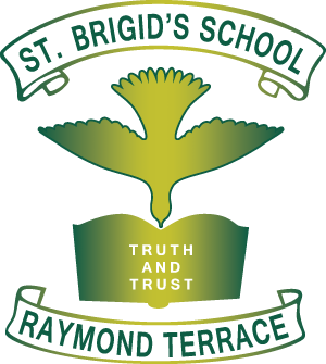RAYMOND TERRACE St Brigid's Primary School Crest