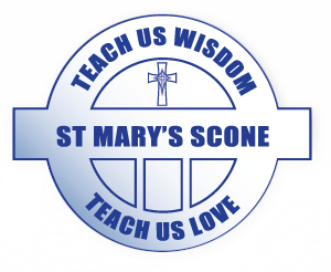 SCONE St Mary's Primary School Crest