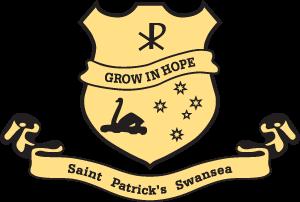 SWANSEA St Patrick's Primary School Crest Image