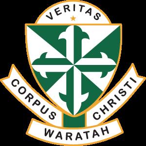 WARATAH Corpus Christi Primary School Crest Image