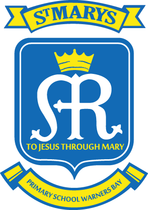 WARNERS BAY St Mary's Primary School Crest