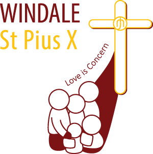 WINDALE St Pius X Primary School Crest