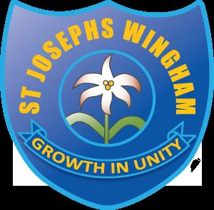 WINGHAM St Joseph's Primary School Crest Image