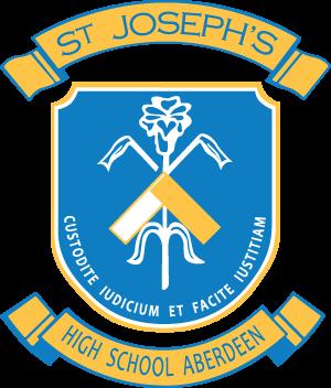 ABERDEEN St Joseph's High School Crest Image