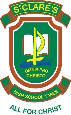 TAREE St Clare's High School Crest
