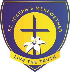 MEREWETHER St Joseph's Primary School Crest Image
