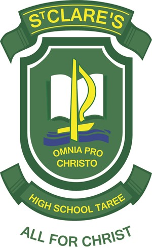 TAREE St Clare's High School Crest Image