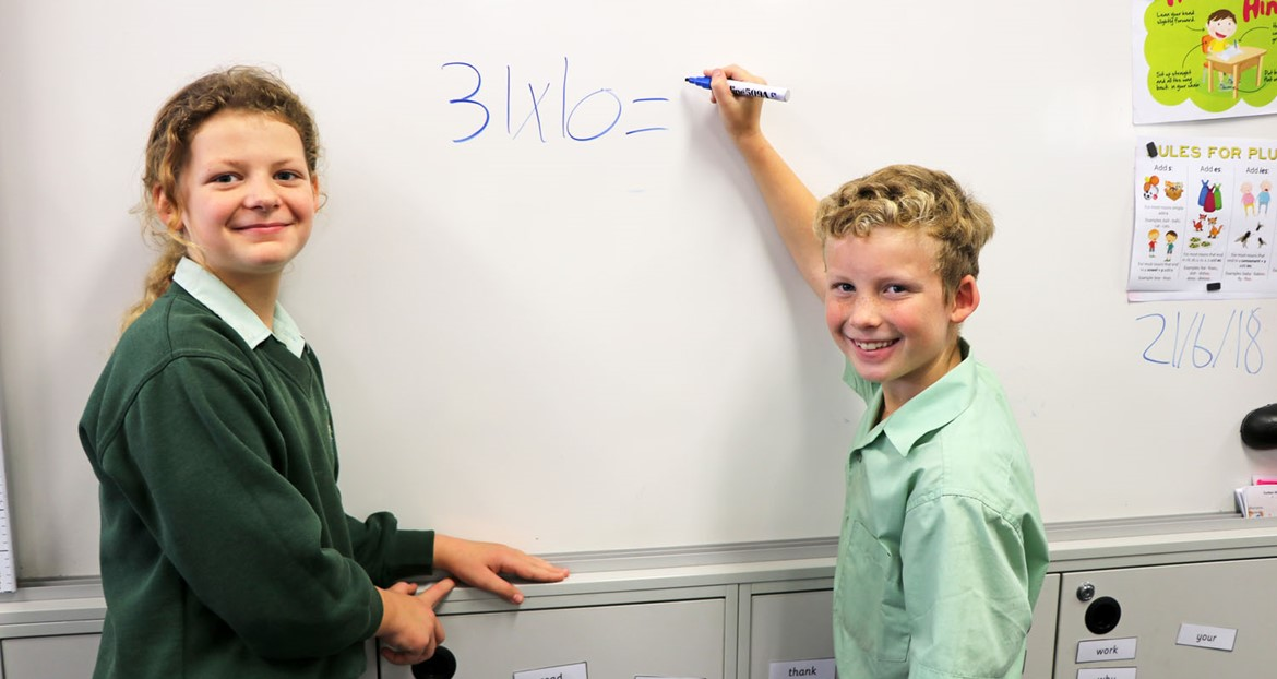 Literacy & Numeracy Banner Image