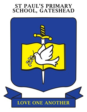 GATESHEAD St Paul's Primary School Crest