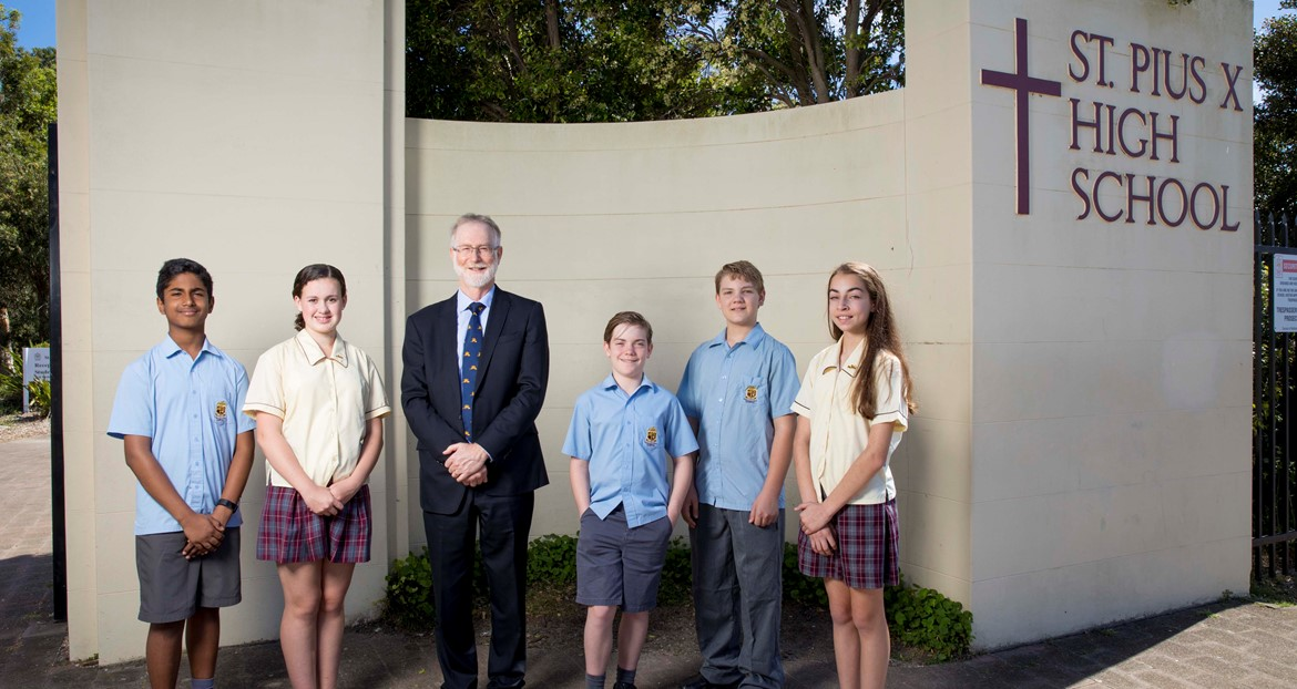ADAMSTOWN St Pius X High School Gallery Image