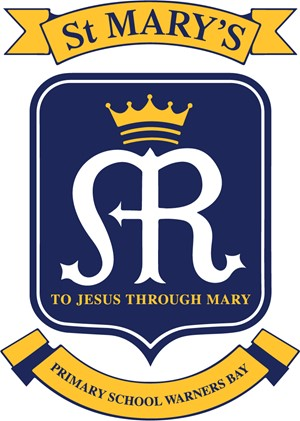 WARNERS BAY St Mary's Primary School Crest Image
