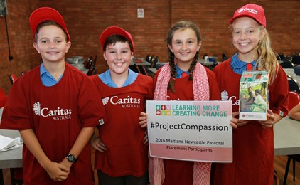 Image:Diocesan schools raise over $45,000 for Project Compassion