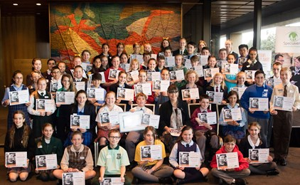 Image:Diocesan students nominated for Fred Hollows Humanity Award