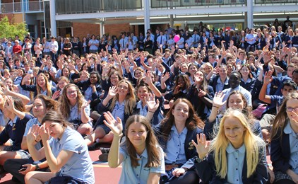Image:GALLERY: So long, farewell, good luck Year 12 class of 2016