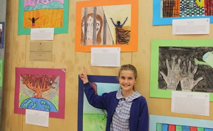 Image:GALLERY: St Therese's Lotus Art Exhibition Fundraiser