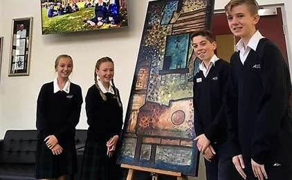 Image:St Peter's Campus receives specially commissioned icons