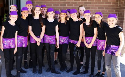 Image:St Joseph's students 'Dream Big' for their annual school musical