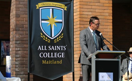 Image:All Saints' College launches new visual identity