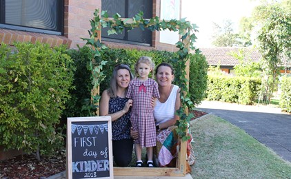 Image:KINDY STARTERS 2018: RUTHERFORD