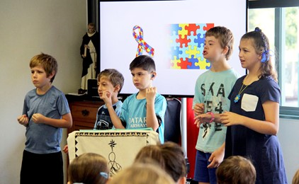 Image:St Dominic's celebrates World Autism Day
