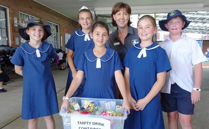 Image:Recycling at St Patrick's Cessnock