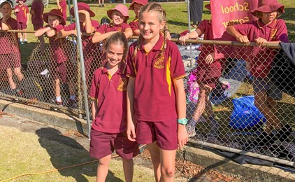 Image:Manning Region Primary Athletics Carnival 2018