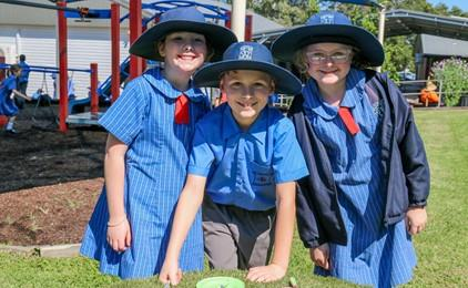 Outdoor learning at Our Lady of Victories IMAGE
